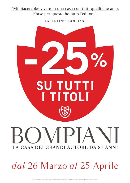 bompiani promozione 2016